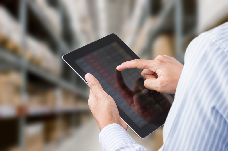 analisi del magazzino e dell'azienda