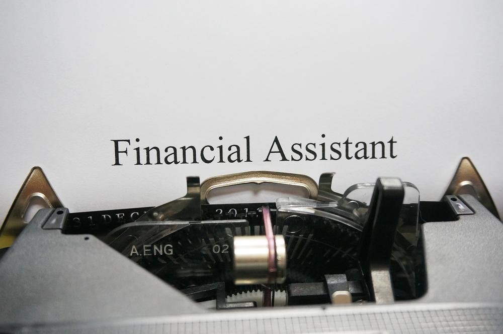 scritta-inglese-assistente-finanziario